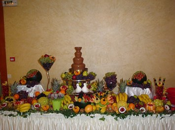Fantana de ciocolata Nunta Craiova